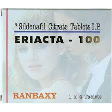 Eriacta 100 Ranbaxy: Cheap Form of Popular Viagra