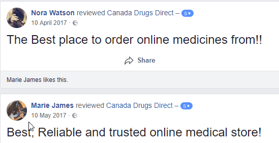 Canada Drugs Direct Testimonials