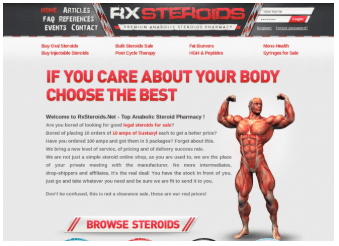 Why is it important to choose a reliable and legit steroid store?