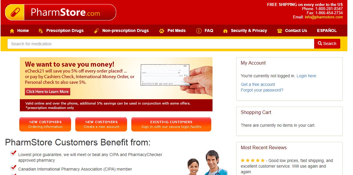 Pharmstore Reviews: Can You Trust This Provider with Your Prescription Needs?