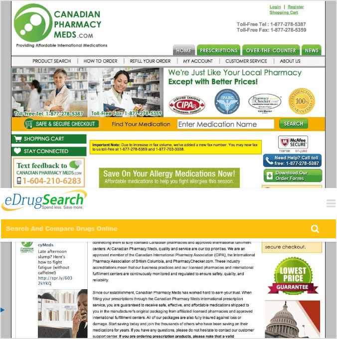 Canadianpharmacymeds.com: A Reliable Online Pharmacy?