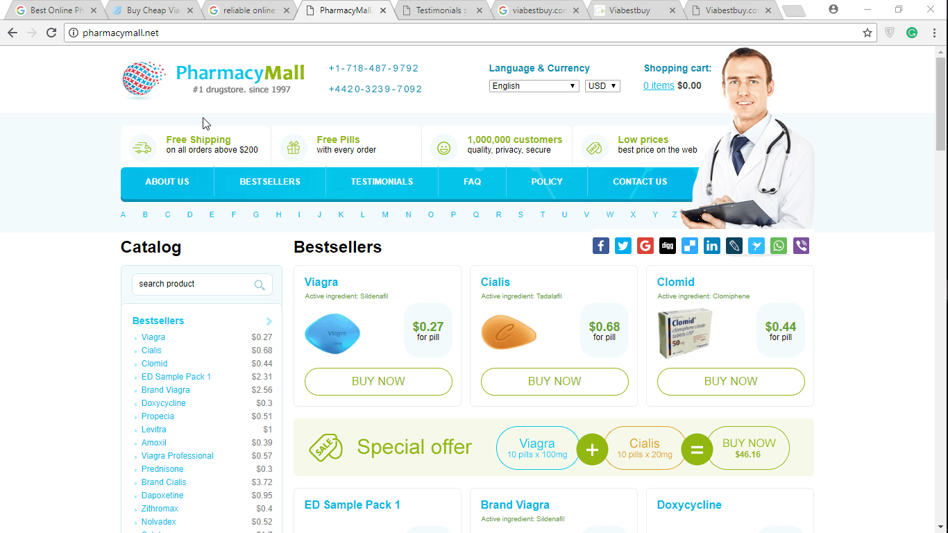 Cheap-rx.com Reviews: More than 20 Years Offering Meds Online