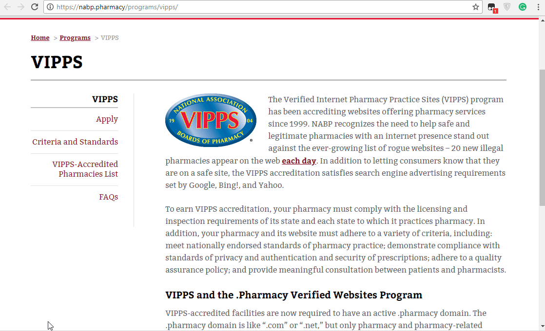 Vipps Approved Canadian Online Pharmacy: Legal Pharmacies in Canada