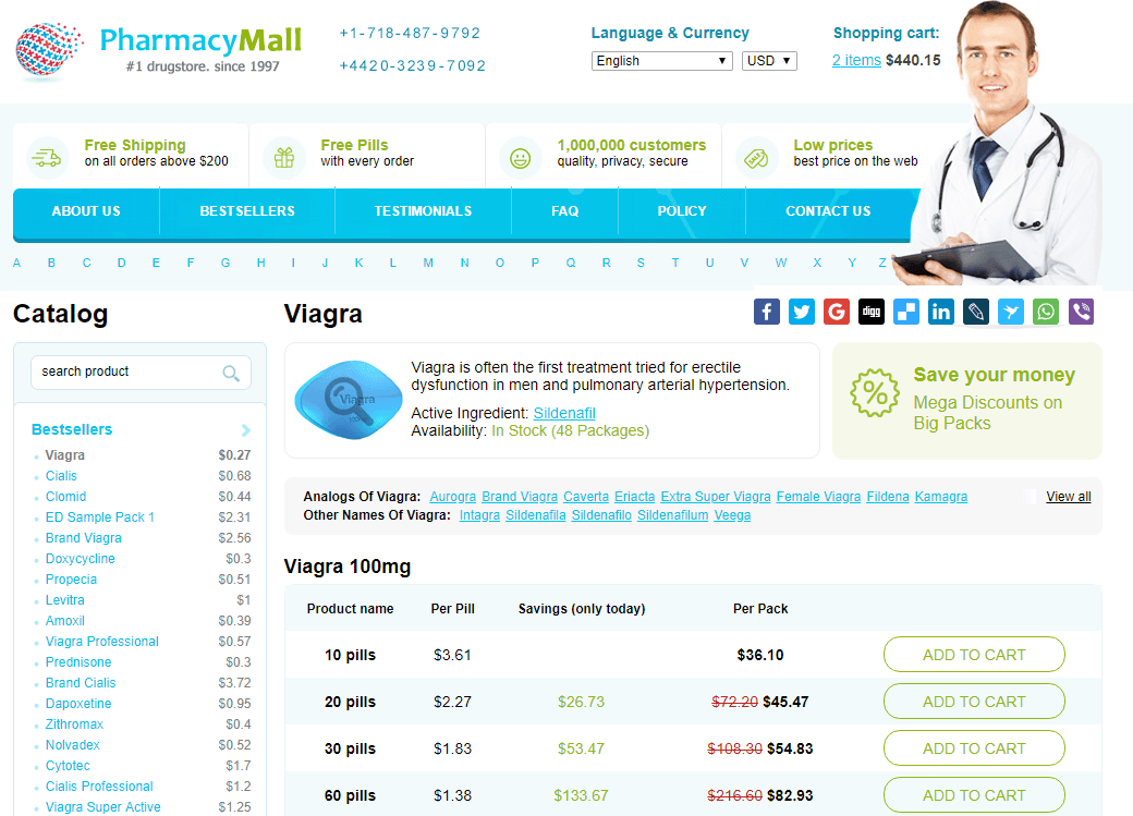 Canadian Mail Order Pharmacy Generic Viagra Price